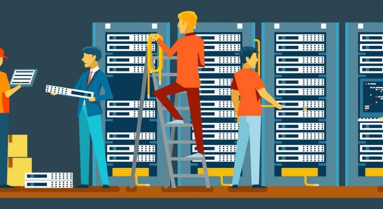 Manutenção de data center